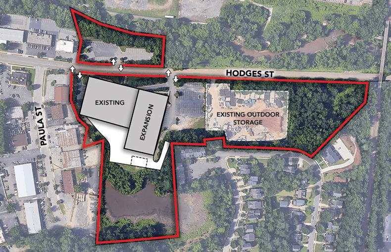 Hodges Site Plan